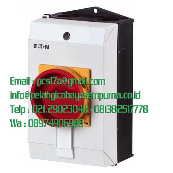 P1-25/I2/SVB/HI11-N Main switch 3 pole + Netral 1 N/O + 1 N/C 25 Amp