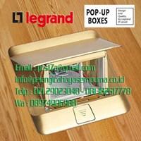 Legrand 54015 Pop-up Floor Boxes Stop Kontak Lantai Stop Kontak Meja