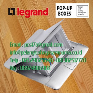 Legrand 54011 Pop-up Floor Boxes Table Socket