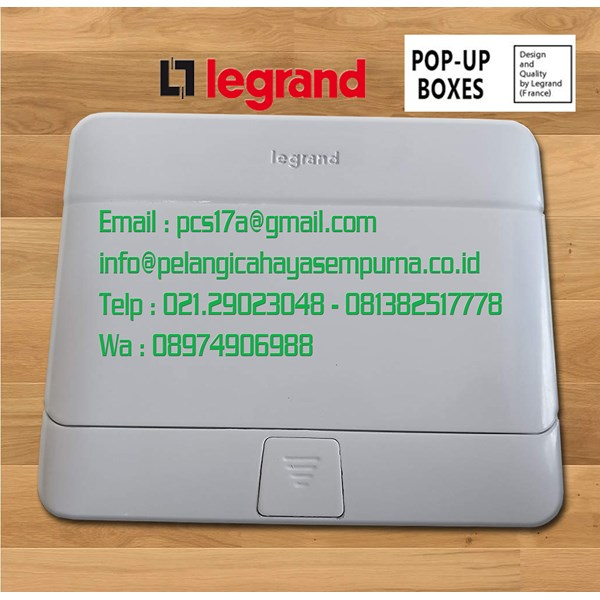 Jual Pop Up Floor Boxes 4 Module Glossy White