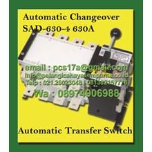 Salzer Automatic Changeover Switch 630 Amp 4 Pole SAD-630-4