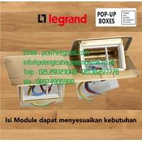 Stop Kontak Meja Stop Kontak Lantai 6 Module Pop-up Floor Boxes Legrand
