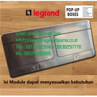 Pop-up Floor Boxes Stainless 8 Module 54023 Legrand