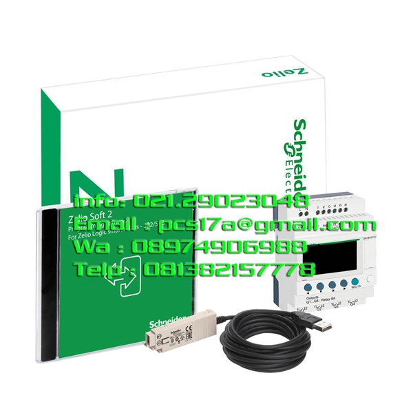 Smart Relay SR3PACKBD Type Paket 24Vdc Zelio Logic