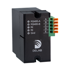 Delab A-01s External Plug in Module RS-485 Modbus RTU For PQM-1000s DP23 DP-33 DP-21 DP-31
