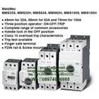 Meta Mec Manual Motor Starter 32 up to 100A and 100kA 1
