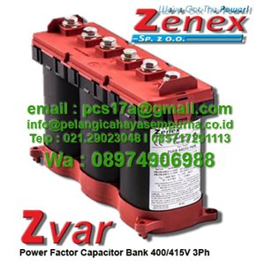 Zvar Kapasitor 400V 5, 10, 15, 20 & 25 kvar
