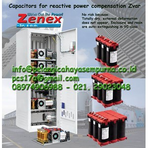 Dari Power factor capacitor Zvar 400V 525V 3Phase 0