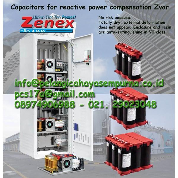 Power factor capacitor Zvar 400V 525V 3Phase