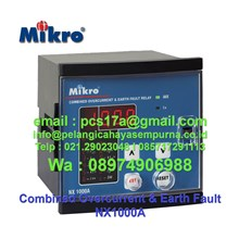 Combined Overcurrent & Earth Fault Relay NX1000A