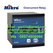 Overcurrent Relay NX 204A NX 203A