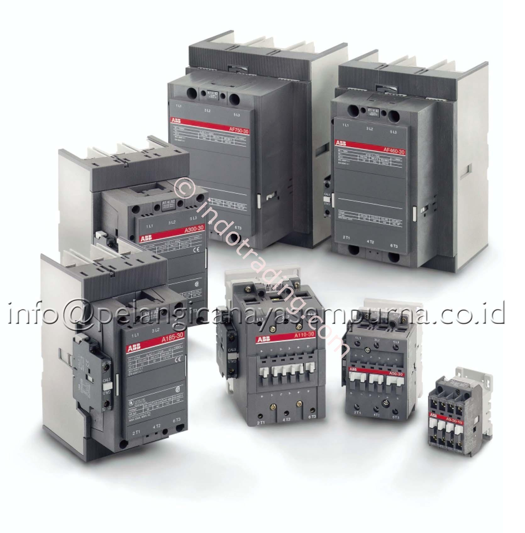 Jual abb contactor af motor protection circuit breaker ms for Abb motor protection relay catalogue