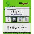 Multimedia Panel Wall Plate Legrand HDMI VGA Audio Video Telephone Network Hubs and Switch Audio Visual 2