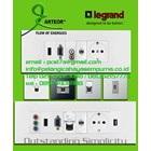 Multimedia Panel Wall Plate Legrand HDMI VGA Audio Video Telephone Network Hubs and Switch Audio Visual 1