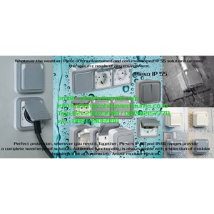 Socket outlet Plexo IP 55 and Plexo Junction Boxes Box plexo ip55