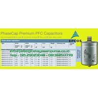 Epcos MKP415 Capacitor Bank EPCOS MKP415 415V Power Factor Correction 415V Pengukur Voltase 1