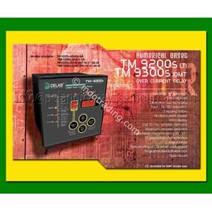 Delab Over Current Relay TM-9200s TM-9300s Overcurrent Relay dan Kontaktor Listrik