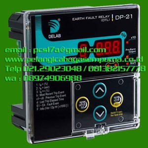 From Delab Earth Fault Relay DP21 0