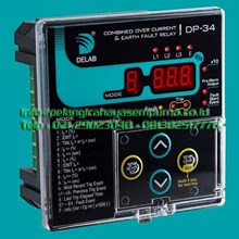 Delab Combined Over current Relay Earth Fault Relay DP34 TM-9000s Relay dan Kontaktor Listrik