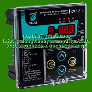 From Delab Combined Overcurrent Earth Fault Relay DP34  1