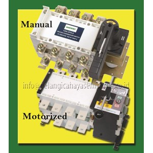 Salzer Change Over Switch Automatic Manual