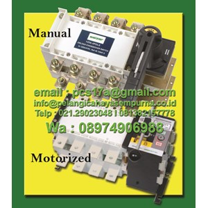 Salzer SAD SPL Change Over Switch Automatic Manual
