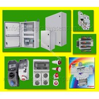 Distributor Box Panel Industri Marina Polyester Metal & Stainless Steel Plug Legrand Junction Box IP55 IP67 3