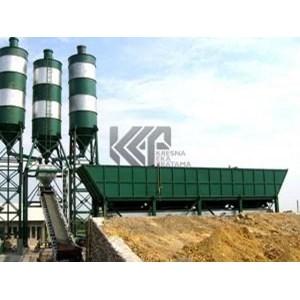 Concrette Batching Plant Dry Mix System