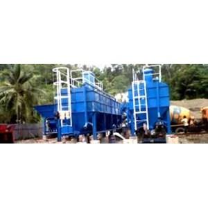 Cetakan Beton Portable Concrette Batching Plant Dry Mix System