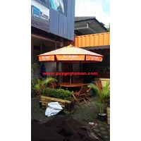Payung Taman  Sablon