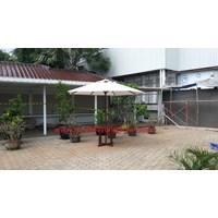 Payung Taman Jati Diameter 3 Meter