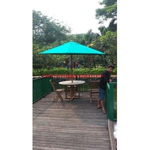 Payung Taman Jati Sunbrella Hijau