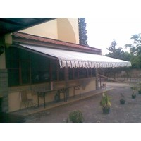 Jual Awning Gulung Sunbrella 2