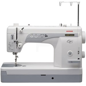 Dari Mesin Jahit High Speed portable Janome 1600p-QC Long Arm quilting 0
