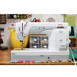 Dari Mesin Jahit High Speed portable Janome 1600p-QC Long Arm quilting 8