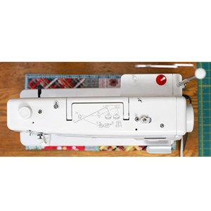 Dari Mesin Jahit High Speed portable Janome 1600p-QC Long Arm quilting 3