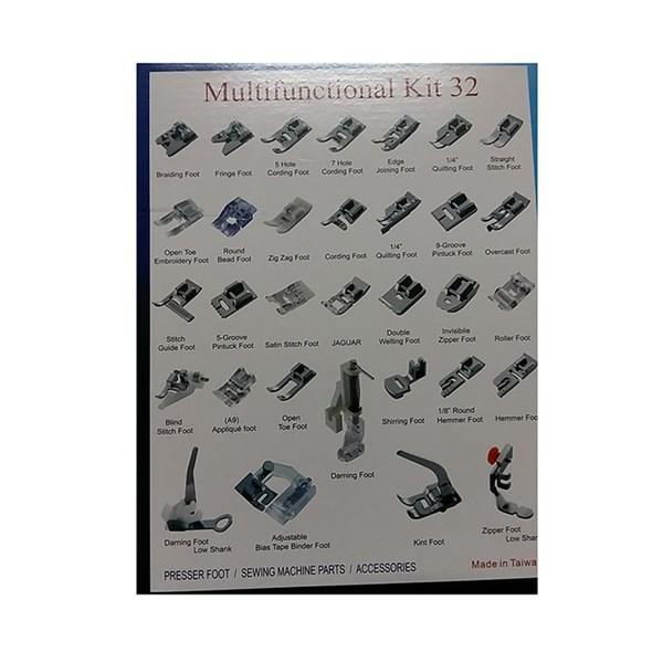 Multifunctional sewing machine kit shoes 32