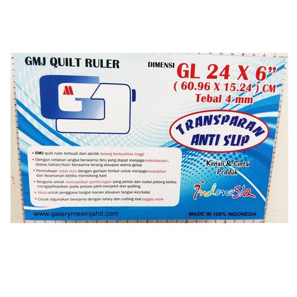 Penggaris GMJ Quilt Ruller