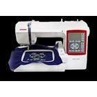Janome Mc230e Embroidery Machine Compute Portabler - Red White 2