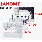 Janome series 24 (st-24 ct2480lx  J3-24) mesin jahit portable kwalitas heavy duty 2