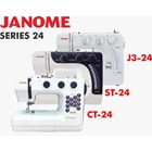 Janome series 24 (st-24 ct2480lx  J3-24) mesin jahit portable kwalitas heavy duty 3