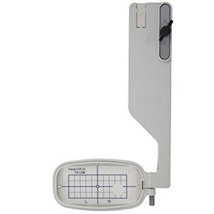 From Janome Free Arm Embroidery Hoop FA10A for MC9900 & Elna 860 Aksesoris Mesin Jahit 2