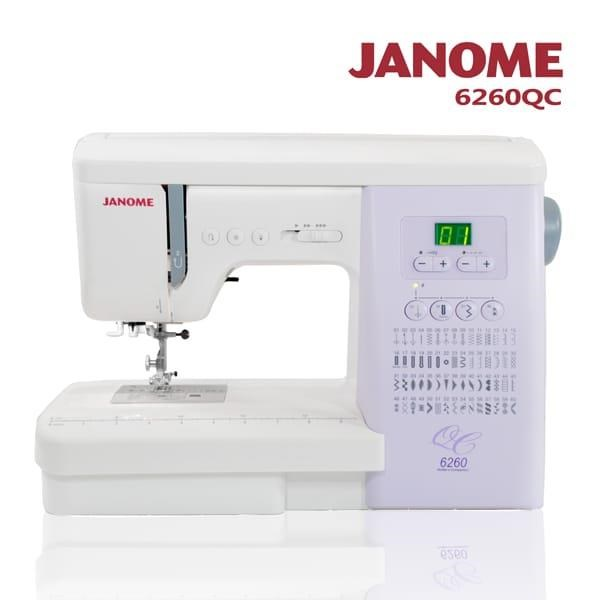sewing machine janome 6260qc
