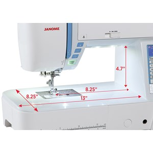 From Janome skyline s7 sewing machine 2