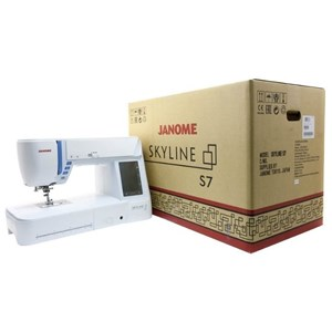 From Janome skyline s7 sewing machine 4