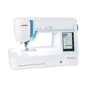 From Janome skyline s7 sewing machine 0