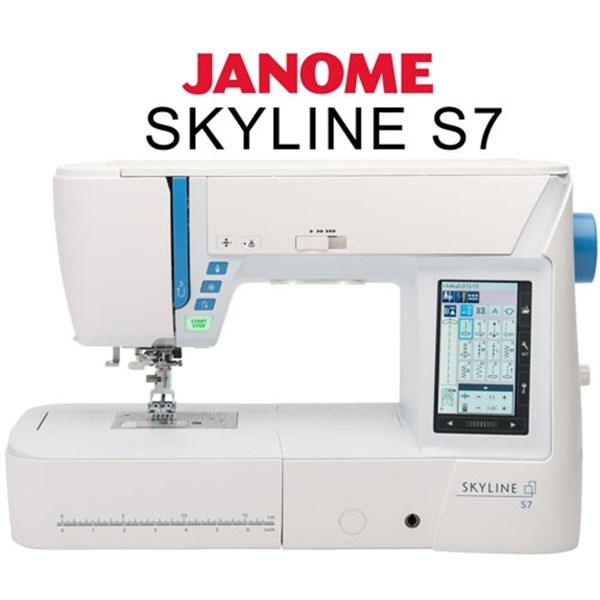 mesin jahit Janome Skyline S7