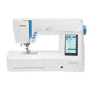 From janome skyline s9 sewing machine  11