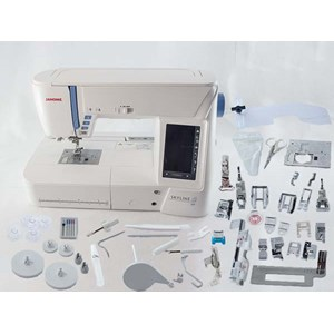 From janome skyline s9 sewing machine  0
