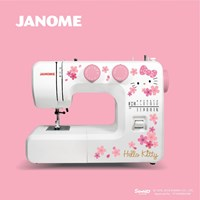 mesin jahit janome hello kitty NS322P